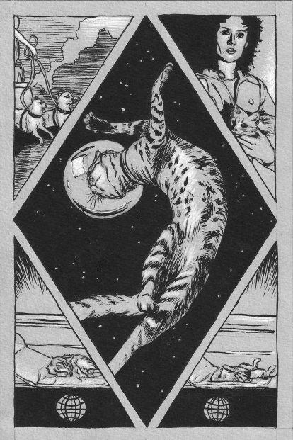 Space Cats page 1