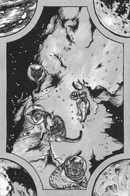 Space Cats page 2
