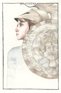 """""""Athena"""" print"""